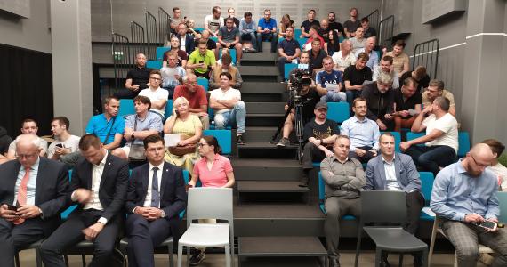VRFS nariai išreiškė pasitikėjimą Asociacijos vadovu P.Malžinsku